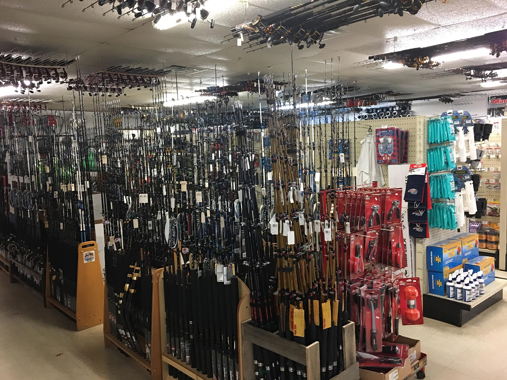 A Look Inside the Store | Crums Mini Mall | 850-984-5501